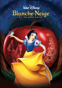 AFFICHE BLANCHE NEIGE ET LES SEPT NAINS