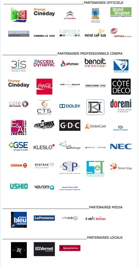 Visuels Partenaires 2013